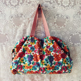 Vintage 70's Boho Tote: Alternate View #1