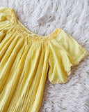 Vintage 70's Mexican Gauze Dress: Alternate View #2