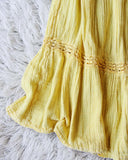 Vintage 70's Mexican Gauze Dress: Alternate View #3