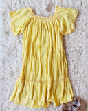 Vintage 70's Mexican Gauze Dress: Alternate View #1