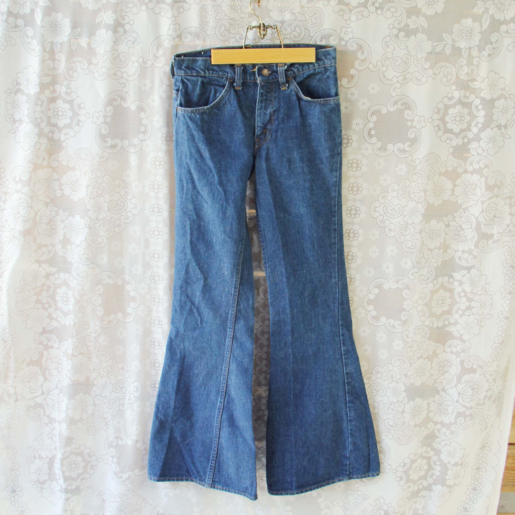 Brand-new Vintage 70's Levi's Bell Bottoms, Sweet Vintage 70's Jeans from  GR51
