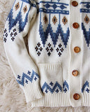 Vintage 70's Native Sweater: Alternate View #3