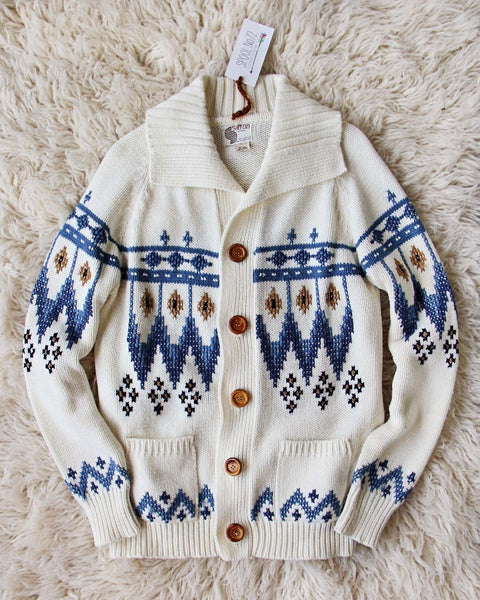 Vintage 70's Native Sweater: Featured Product Image