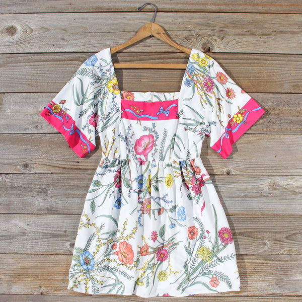 Vintage 70's Poppies Dress: Featured Product Image