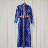 Vintage 70's Gypsy Maxi Dress: Alternate View #2