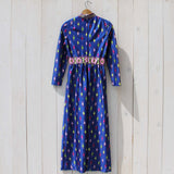 Vintage 70's Gypsy Maxi Dress: Alternate View #4