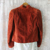 Vintage 70's Rust Suede Jacket: Alternate View #3