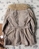 Vintage 70's Shearling & Suede Coat: Alternate View #5