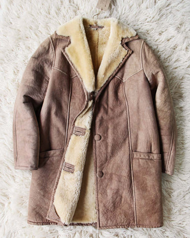 Vintage 70's Shearling Coat