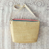 Vintage 70's Stripe Tote: Alternate View #3