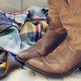 Vintage Autumn Stitch Boots: Alternate View #2
