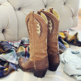 Vintage Autumn Stitch Boots: Alternate View #3