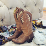 Vintage Autumn Stitch Boots: Alternate View #5