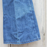 Vintage 70's Bell Bottom Jeans: Alternate View #3