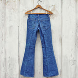 Vintage 70's Bell Bottom Jeans: Alternate View #4