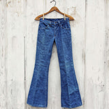 Vintage 70's Bell Bottom Jeans: Alternate View #1