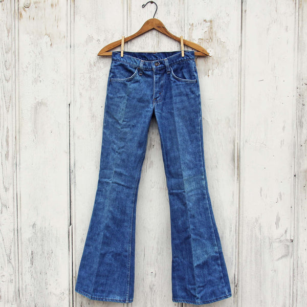 Vintage 70's Bell Bottom Jeans: Featured Product Image