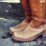 Vintage Campus Boots: Alternate View #2