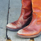 Vintage Stitch Campus Boots: Alternate View #2