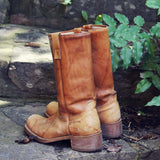 Vintage Campus Boots: Alternate View #3