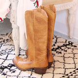 Vintage Honey Campus Boots: Alternate View #4