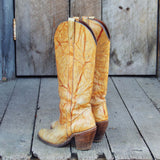 Vintage Capezio Marbled Boots: Alternate View #3
