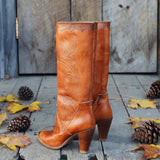 Vintage Caramel Dingo Boots: Alternate View #3