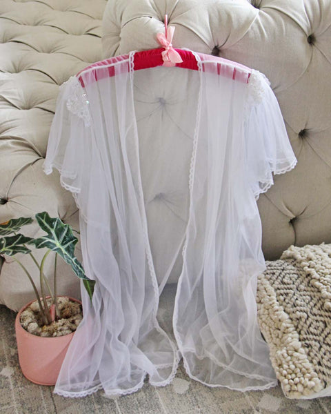 Vintage Chiffon & Beaded Duster: Featured Product Image