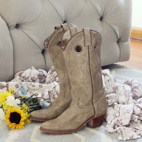 Vintage Cheyenne Boots: Featured Product Image