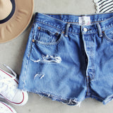 Vintage Cut-off Shorts: Alternate View #2