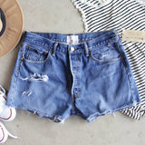 Vintage Cut-off Shorts: Alternate View #1
