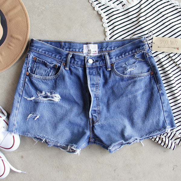 Vintage Cut-off Shorts: Featured Product Image