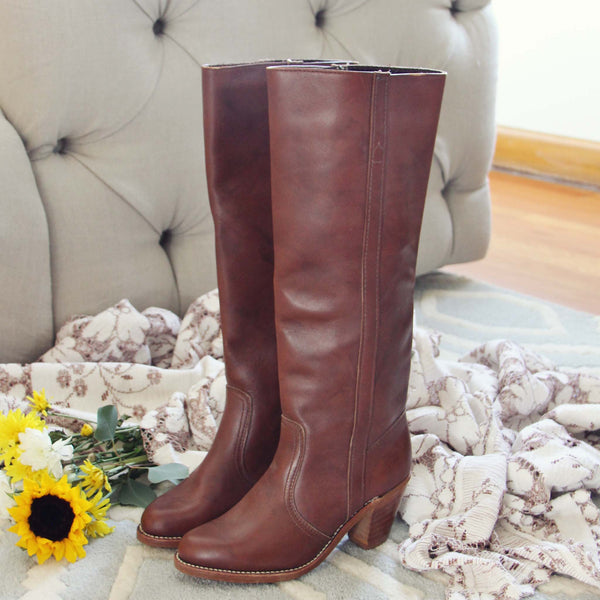 Vintage 70's Dex Boots: Featured Product Image