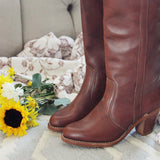Vintage 70's Dex Boots: Alternate View #2