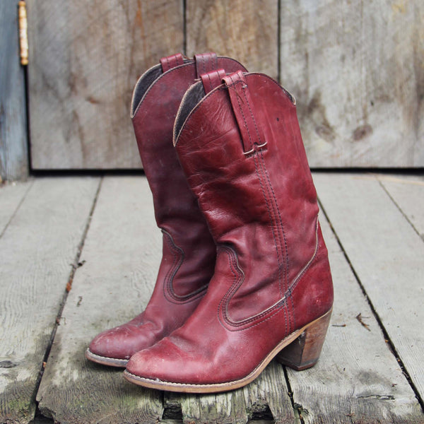 Vintage Autumn Dex Boots: Featured Product Image