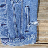 Vintage Distressed Vest: Alternate View #3