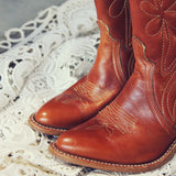 Vintage Dixie Boots: Alternate View #2