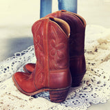 Vintage Dixie Boots: Alternate View #3
