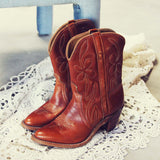 Vintage Dixie Boots: Alternate View #1