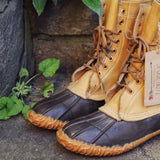 Vintage Duck Boots: Alternate View #2