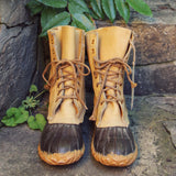 Vintage Duck Boots: Alternate View #3
