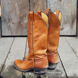 Vintage Falling Leaves Boots: Alternate View #3