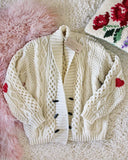 Vintage Fishermans Heart Sweater #1: Alternate View #1