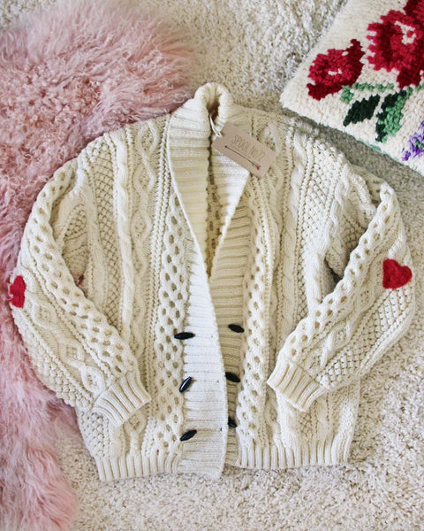 Vintage Fishermans Heart Sweater #1: Featured Product Image