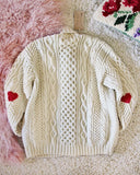 Vintage Fishermans Heart Sweater #1: Alternate View #3