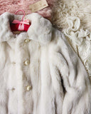 Vintage 60's French Faux Fur Coat: Alternate View #2