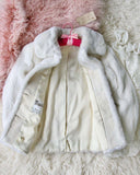 Vintage 60's French Faux Fur Coat: Alternate View #3