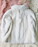 Vintage 60's French Faux Fur Coat: Alternate View #5