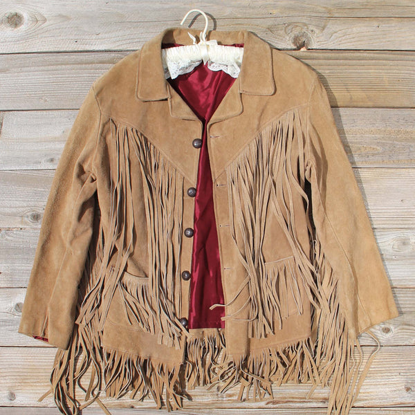 Vintage 70's Fringe Jacket: Featured Product Image