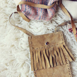 Vintage 70's Fringe Tote: Alternate View #2
